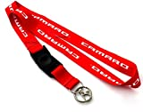 Chevrolet Chevy Red Camaro Lanyard Neck Phone Key Chain Strap Quick Release