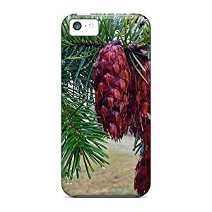 Iphone 5c Case Cover Skin : Premium High Quality Douglas Fir Cones Case