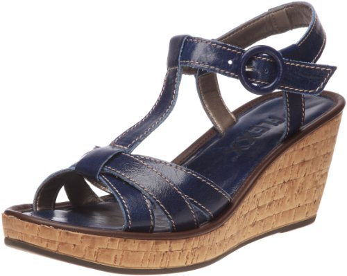 The Flexx Step Aside - Sandalias de vestir Mujer Azul - azul