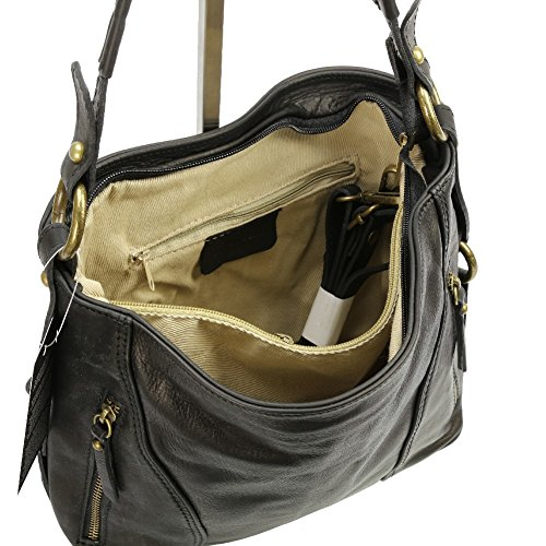 Bag Tote To Light Olivia Brown Black Women pS5qdfwnx