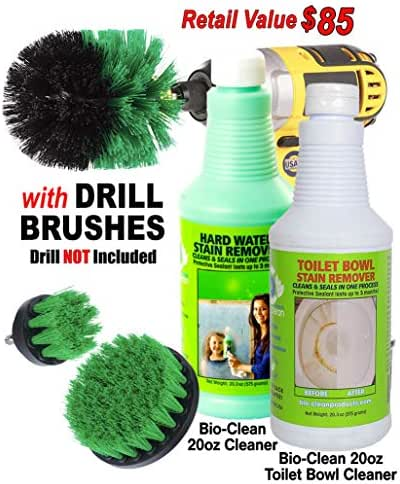 Bio-Clean Products: Hard Water Spot Remover and Toilet Bowl Cleaner