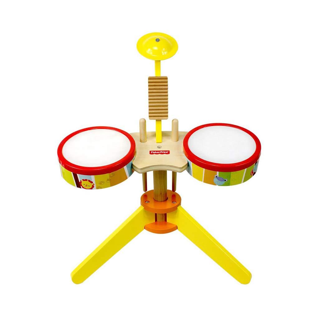 LIUFS-ドラム 赤ちゃんの木製のビートドラム音楽啓蒙男の子のおもちゃ (サイズ さいず : S s)  S s B07GSWMKB3