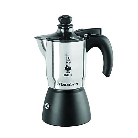 Bialetti Mokacrém - Cafetera Espresso para 3 Tazas (Aluminio ...