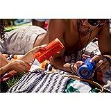 JBL Flip 3 Splashproof Portable Bluetooth Speaker (Orange)