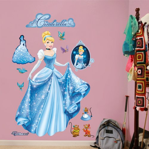 FATHEAD Cinderella from Rags to Riches Graphic Wall Décor ()