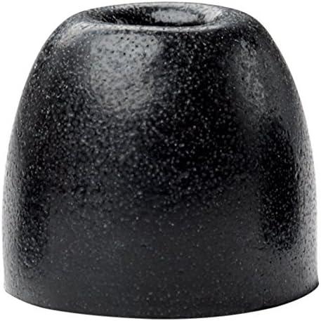 50 Pairs Medium Bulk 100 Pack Shure EABKF1-100M Black Foam Sleeves Eartips for SE Series