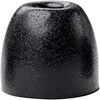 Shure EABKF1-100M Black Foam Sleeves Eartips for SE Series, Bulk 100 Pack (50 Pairs) Medium
