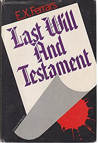 book cover of Last Will and Testament