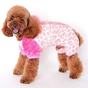 Mascota Perro crin Coral forro polar ropa ropa abrigo prendas de vestir
