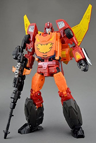 Hot Rod Rodimus Prime (Transformers DX9 D06 Carry Rodimus Prime Hot Rodimus Hot Rod)