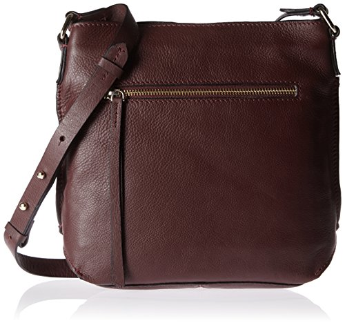 Shoppers Burgundy Morado de Jewel Clarks y Leather Topsham Mujer bolsos hombro BaWqEz