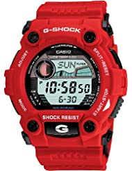 Casio Mens G7900A-4 G-Shock Rescue Red Digital Sport Watch