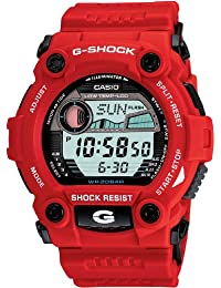 Men's G7900A-4 G-Shock Rescue Red Digital Sport Watch