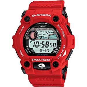 5176X0c4yTL. SS300  - G-Shock G-Rescue Series Red Dial Men's Watch G-7900A