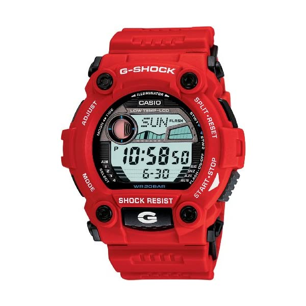 5176X0c4yTL. SS600  - G-Shock G-Rescue Series Red Dial Men's Watch G-7900A