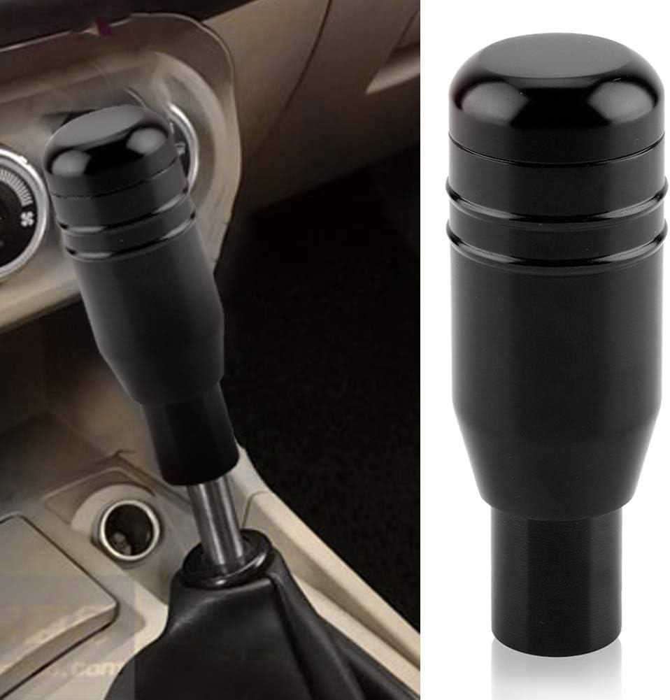 Schaltknauf Auto Universal Modifikation Manueller Schaltknauf Schaltkopf Runde Kugelform Black