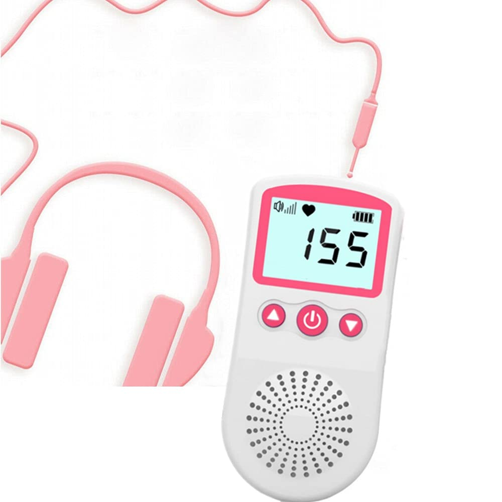 Premium Baby - Bump Speaker System, Pregnancy Headphone for Belly, Perfect Baby Shower Pregnancy Listening Device Gifts,Prenatal fetal Doppler Headphone Hear Sounds and Kick Inside The Womb Doppler