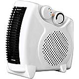 Indus Zolo Plastic Blower Type Room Heater 1210 (White)