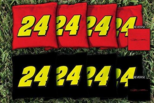 8 NASCAR Jeff Gordon #24 Regulation All Weather Cornhole Bags 24 Nascar Bean Bag