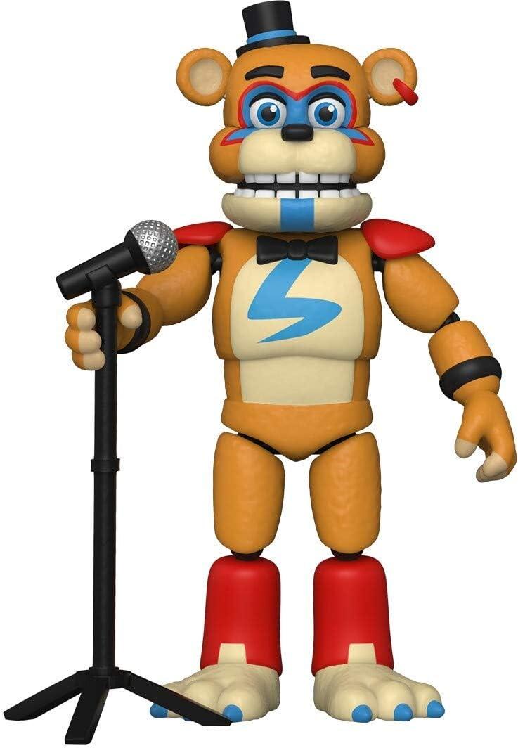 Funko Action Figure Multicolore 47490 Glamrock Freddy Collezione Five Nights at Freddys-PizzaPlex