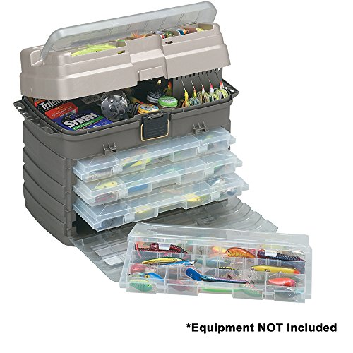 Plano StowAway Tackle System, Includes Four removable organization storage boxes