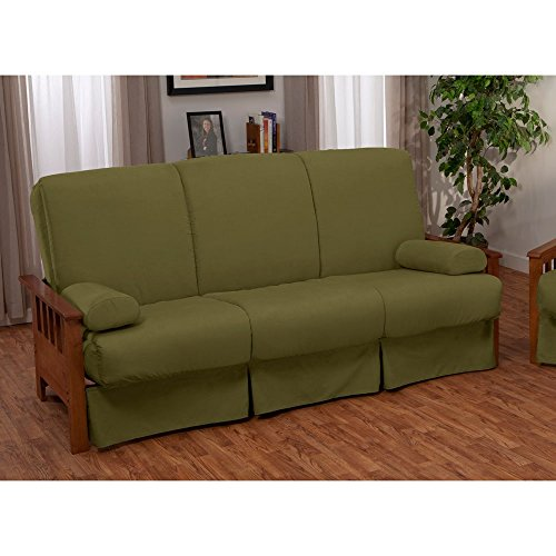 EpicFurnishings Provo Perfect Sit & Sleep Mission-style Pillow Top Full-size Sofa Bed Mahogany/Slate price