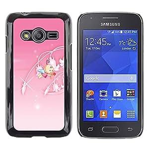 iKiki Tech / Estuche rígido - Cute Princess Pink - Samsung Galaxy Ace 4 G313 SM-G313F