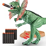 Dinosaur Toys with Target Shooting Function Realistic Dinosaur Sound Birthday Gift Toy for Kids Boys Girls