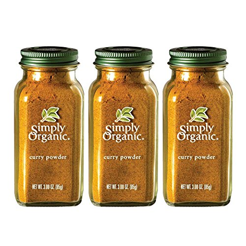 Simply Organic Curry Powder | Certified Organic | 3.00 oz. (3 Pack) ()