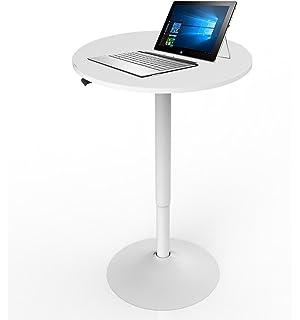 L-shaped Reception Desk with Mobile Pedestal