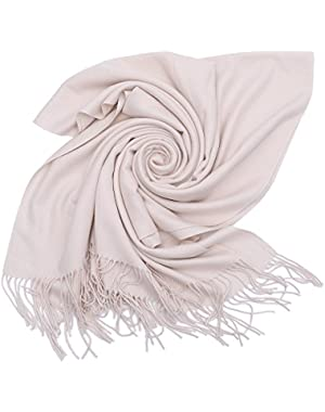 Cashmere Scarf Blanket Large Soft Pashmina Shawl Wrap For Men and Women