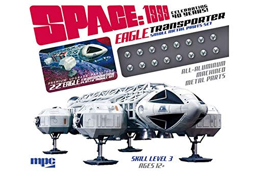 Auto World MPCMKA016 Space 1999: Eagle Transporter Metal Parts Set