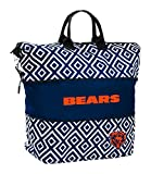 Logo Brands NFL Chicago Bears Expandable Tote, Blue