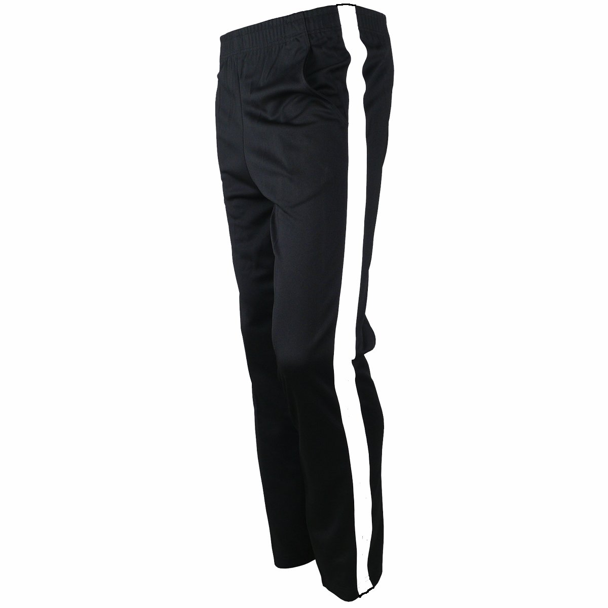 myglory77mall メンズ ランニング ジョギング用ズボン 陸上パンツ ウォームアップパンツ トレーニングウェア B01K13HRKG S US(L Asian Tag)|Black One Line Black One Line S US(L Asian Tag)