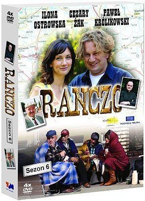 Ranczo Sezon 6 serial TV (DVD 4 disc) (PAL System)