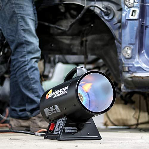 Mr. Heater MH60QFAV 60,000 BTU Portable Propane Forced Air Heater