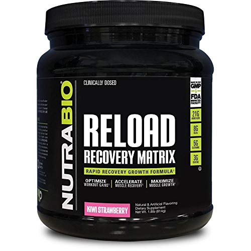 NutraBio Reload - Post Workout Recovery (30 Servings, Kiwi Strawberry)