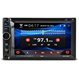 Car Stereo, XO Vision 6.2 inch Wireless Bluetooth Multimedia DVD Receiver MP3 Compatible with FM/AM [ XOD1752BT ]