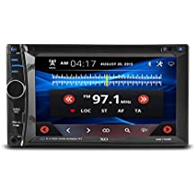 XO Vision 6.2-inch Touchscreen DVD Multimedia Car Stereo Receiver with Bluetooth