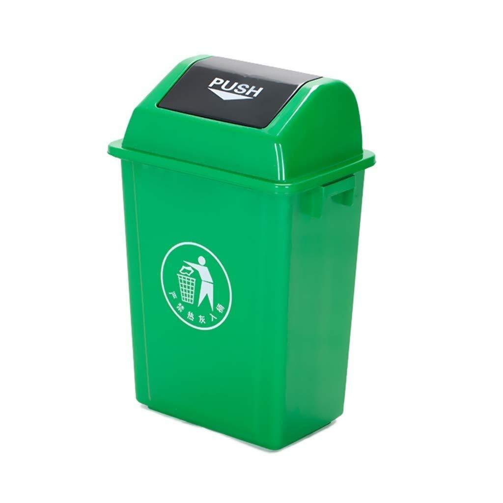 Amazon.com: MGEM Trash Can,The Barrel Revolving Ceiling ...