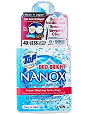 TOP NANOX Ultra Concentrated Liquid Detergent, Deo Bright, 450g