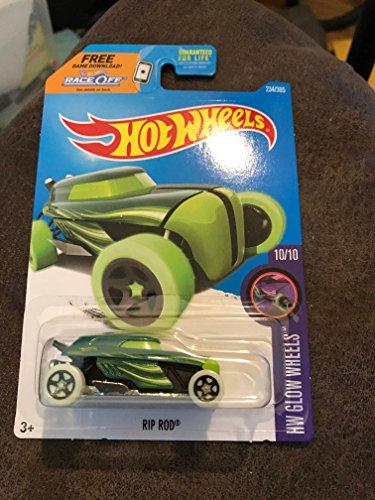 hot wheels green rip rod hw glow wheels 234 of 305