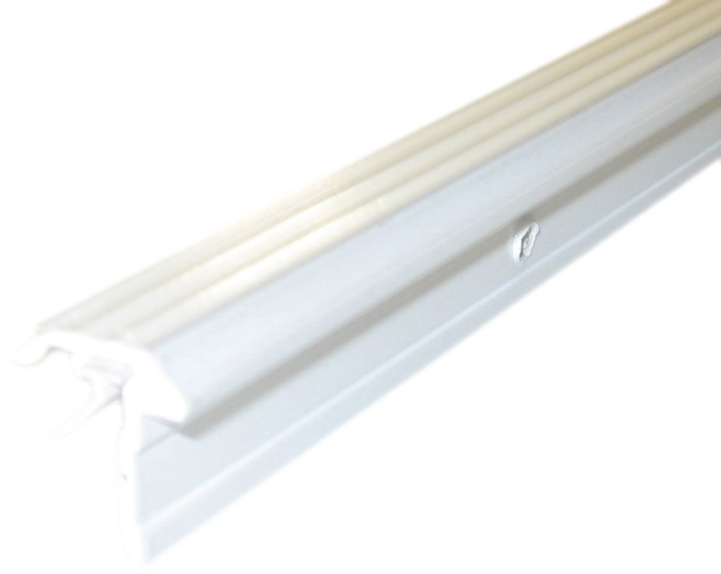 M-D Building Products 69962 3/4-Inch by 7/8-Inch by 84-Inch WS009 T-Astragal with Vinyl Insert, White