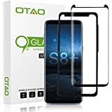 OTAO Galaxy S8 Plus Tempered Glass Screen Protector, [Case Friendly][Easy Installation