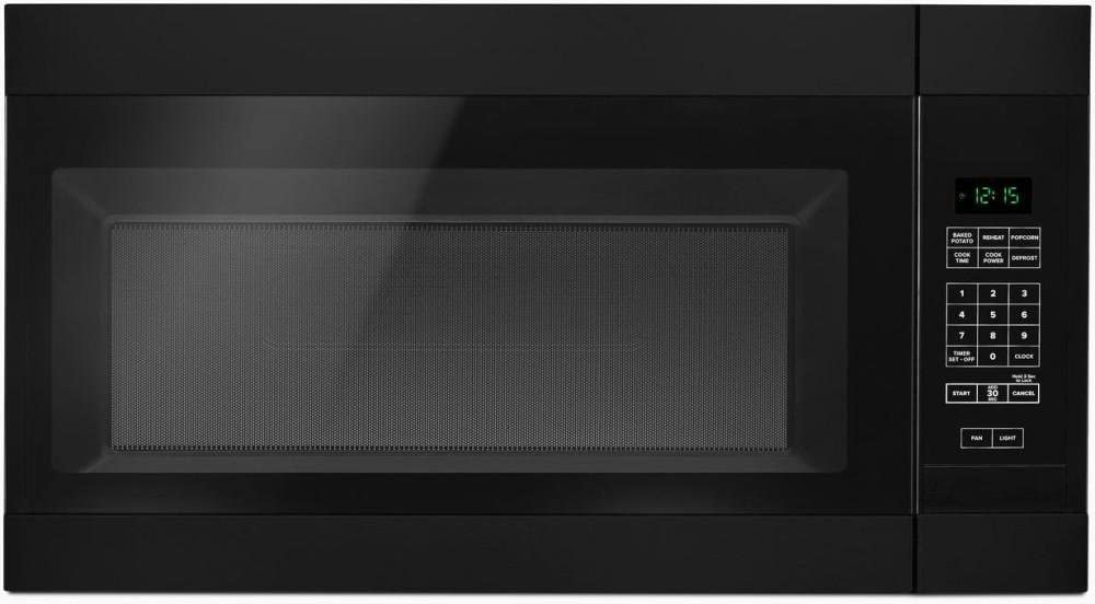 Amana AMV2307PFB 1.6CF 1000 Watt Over The Range Microwave Black