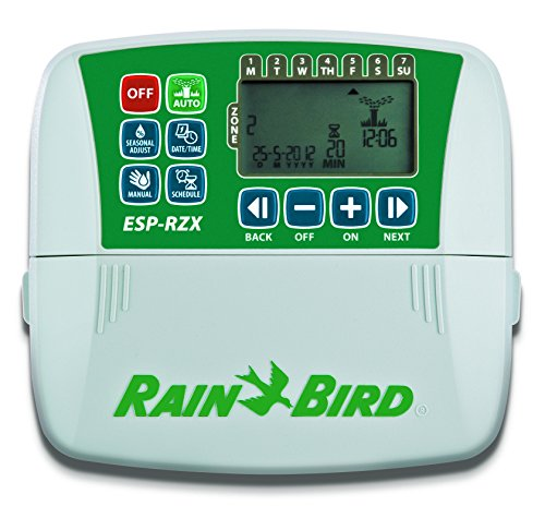 Rain Bird ESP-RZX4i-120V 4-Station Rapid Programing Indoor Controller Sprinkler Timer