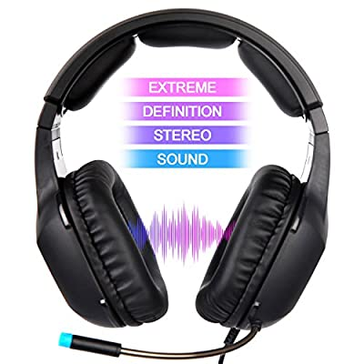 Gaming Headset Headphones for PS4 Xbox ONE PC Computer Laptop Mobile Phone iPod IPAD Tablets