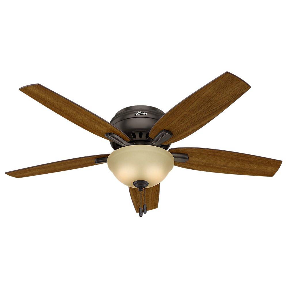 Hunter Fan Company 53314 Newsome Ceiling With Light 52 Large Premier Bronze Com