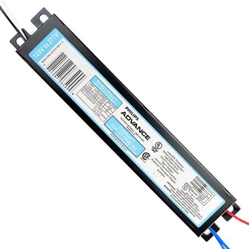Advance Centium ICN-3TTP-40-SC - (3) Lamp Fluorescent Ballast - 40 Watt CFL - 120/277 Volt - Instant Start - 0.88 Ballast Factor