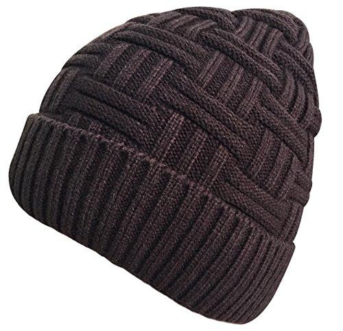e1ff8f4abfe Loritta Mens Winter Warm Knitting Hats Wool Baggy Slouchy Beanie Hat Skull  Cap - Buy Online in Oman.